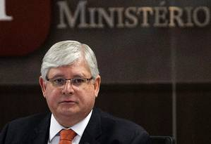 O Procurador-geral da República, Rodrigo Janot Foto: Jorge William / Agência O Globo / 31-1-2017
