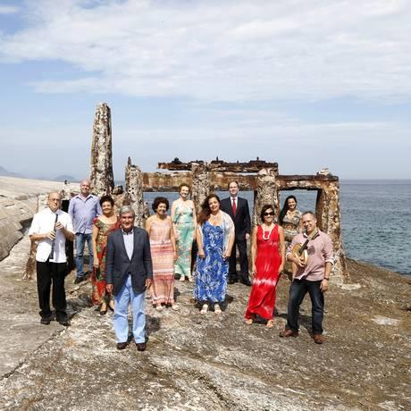Participantes do projeto reunidos no Forte de Copacabana, uma das sedes Foto: Fabio Rossi / Agência O Globo