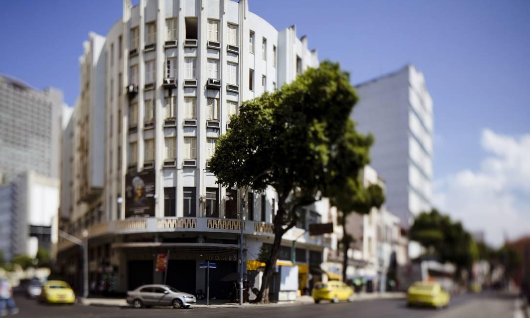 Teatro Carlos Gomes, na Praça Tiradentes Foto: Leo Martins (15-4-2016)