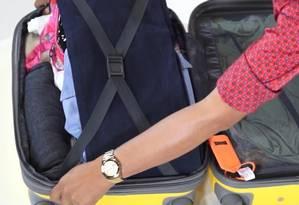 Técnicas para arrumar uma mala Foto: Editoria de Vídeo