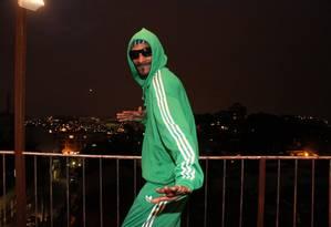 Snoop Dogg em 2011, recebendo jornalistas para falar sobre a turnê 'Doggumentary' Foto: Divulgação / Divulgação
