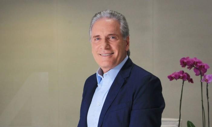 O apresentador Roberto Justus Foto: Marcos Alves / Agência O Globo / 7-8-2015