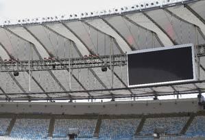 Maracanã reabriu este ano para estreia do Flamengo na Libertadores Foto: Alexandre Cassiano