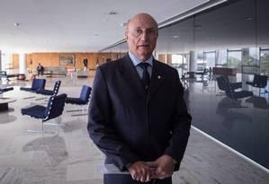 Ministro da Justiça Osmar Serraglio. Foto: André Coelho/Agência O O Globo