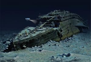 Imagem ilustra a excursão ao Titanic Foto: Reprodução / Blue Marble Private