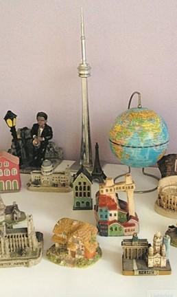 O mundo em miniaturas Foto: Cristina Massari