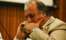 O governador do Rio, Luiz Fernando Pezão Foto: Pablo Jacob / Agência O Globo