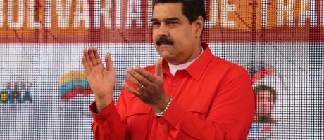 O presidente da Venezuela, Nicolás Maduro, fez duras críticas ao secretário-geral da OEA Foto: HANDOUT / REUTERS