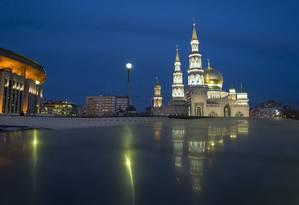 Governo russo, com sede em Moscou, pretende banir testemunhas de Jeogvá, assim como já fez com mórmons e adeptos da Igreja da Cientologia Foto: Alexander Zemlianichenko / AP