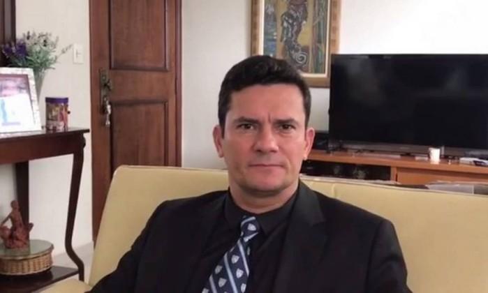 Resultado de imagem para Em vídeo, Moro agradece apoio à Lava Jato