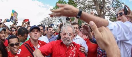 Lula em visita às obras de transposição do Rio São Francisco Foto: Ricardo Stuckert / Divulgação/ Instituto Lula