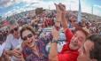 Dilma e Lula durante evento na Paraíba