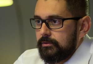 Daniel Gouvêa Teixeira fazia a fiscalização do frigorífico Foto: Reprodução