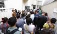 Posto de Botafogo fica lotado para vacinação contra febre amarela