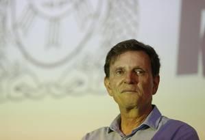 O prefeito Marcelo Crivella: tumor na próstata Foto: Pablo Jacob em 13/03/2017 / Agência O Globo