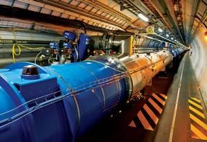 O Grande Colisor de Hádrons é o maior acelerador de partículas do mundo Foto: CERN