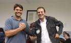 O deputado federal Pedro Paulo e o ex-prefeito Eduardo Paes aparecem nos pedidos de investigação da Procuradoria-Geral da República Foto: Márcia Foletto/02-10-2016 / Agência O Globo