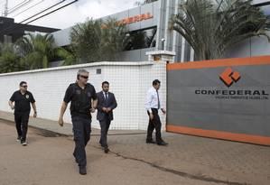 Segundo a declaração de bens apresentada por Eunício em 2014, ele detinha 99,99% da Remmo Participações, controladora da Confederal e também da CORPVS Foto: Michel Filho / O Globo