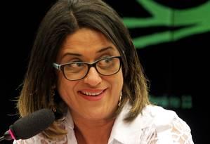 Meire Poza, que foi contadora do doleiro Alberto Youssef, falou em 2014 ao Conselho de Ética da Câmara Foto: Ailton de Freitas, Agência O Globo