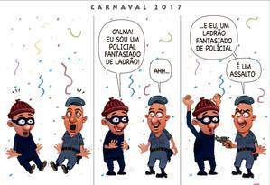 """Charge publicada no jornal """"A Gazeta de Vitória"""", alvo de ações na Justiça"""