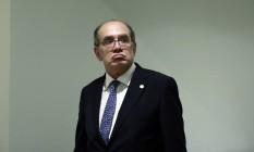 Para o ministro do STF, vazamento feito por autoridades é crime Foto: Edilson Dantas / O Globo