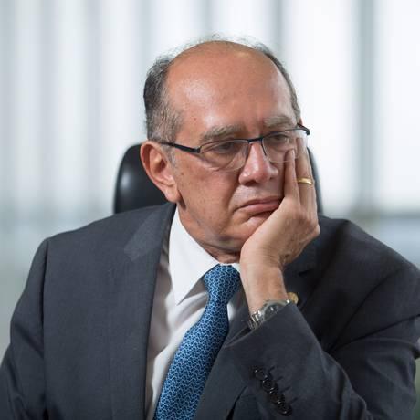 O ministro do STF Gilmar Mendes Foto: André Coelho / O Globo (30-09-2016)