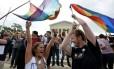 Americanos comemoram decisão da Suprema Corte em 2015 Foto: Arquivo- AFP