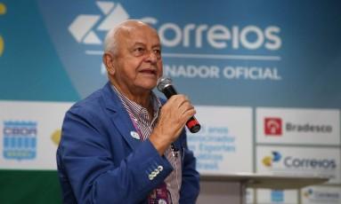 Coaracy Nunes Filho, presidente da CBDA desde 1988 Foto: Satiro Sodré / SSPress