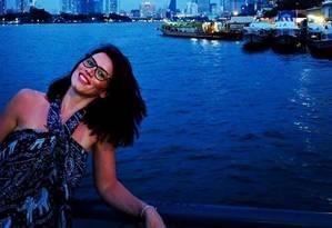 A romena Andreea Cristea está em estado crítico no Hospital St. Thomas Foto: Facebook/Reprodução