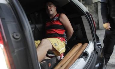 Suspeito de participar da morte de torcedor do Botafogo é preso no Rio Foto: Pedro Teixeira / Agência O Globo