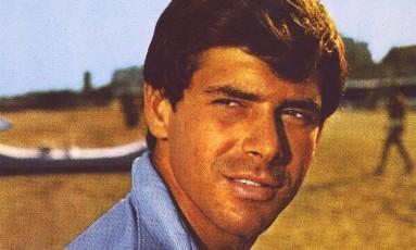 O ator ítalo-cubano Tomás Milián quando jovem Foto: Reprodução
