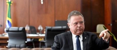 Ministro da Agricultura Blairo Maggi Foto: EVARISTO SA / AFP