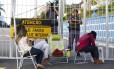 Familiares ajudaram na paralisação de policiais militares no Espórito Santo, que durou 21 dias