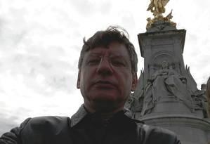 O neurocirurgião Renato Lincoln Corrêa Patrício presenciou o ataque terrosita a Londres Foto: Arquivo Pessoal
