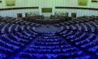 Uma das principais instituições regionais do mundo, o Parlamento Europeu é clicado em foco: 60 anos depois do Tratado de Roma, a União Europeia vive em crise Foto: Editoria de arte