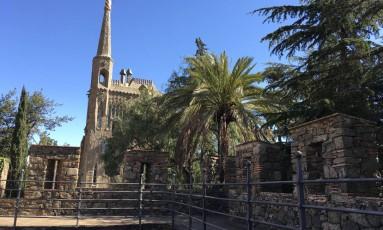 Torre Bellesguard , construção de Antoni Gaudí ainda pouco conhecida, em Barcelona Foto: Bruno Rosa
