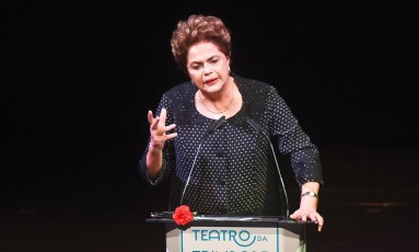 A ex-presidente Dilma Rousseff Foto: Patricia de Melo Moreira/ AFP