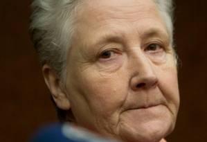 Marie Collins: críticas à falta de colaboração do Vaticano Foto: Andrew Medichini/AP/7-2-2012