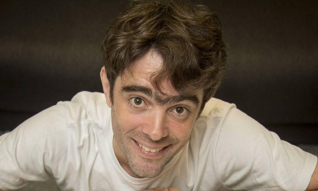 O ilustrador e animador, Andrei Duarte é a voz do Irmão do Jorel, do Cartoon Network Foto: Agência O Globo / Analice paron