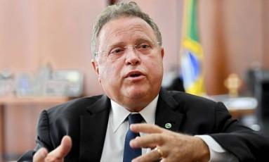 Ministro da Agricultura Blairo Maggi. Foto: Evaristo Sá/AFP