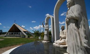 Monumento aos Mártires de Cunhaú e Uruaçu, em São Gonçalo do Amarante Foto: REPRODUÇÃO/GOVERNO DO ESTADO DO RIO GRANDE DO NORTE