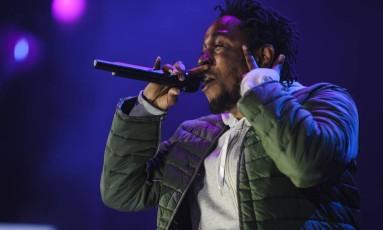 O rapper americano Kendrick Lamar Foto: Jacob Blickenstaff / NYT