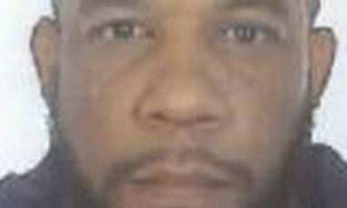 Khalid Masood em foto divulgada pela Polícia Metropolitana britânica Foto: Divulgação