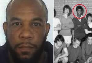 Polícia britânica divulga imagem antiga de Khalid Masood na escola em Tunbridge Wells Foto: Divulgação