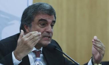 Faculdade de Direito no DF promoveu um debate sobre drogas e presídios Foto: Ailton de Freitas / Agência O Globo