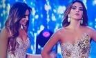 'Fúria contida' de derrotada no Miss Colômbia viraliza na web Foto: Reprodução