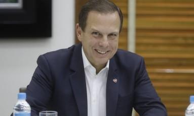 O prefeito de São Paulo, João Doria Foto: Andre Penner / AP 23/03/2017