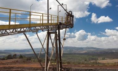 Jazida da Mineração Usiminas (Musa), em Itatiaiuçu (MG) Foto: Divulgação/20-6-2011