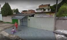 Centro Educacional Souza Passos, em Paciência, na Zona Oeste do Rio Foto: Reprodução/Google Street View