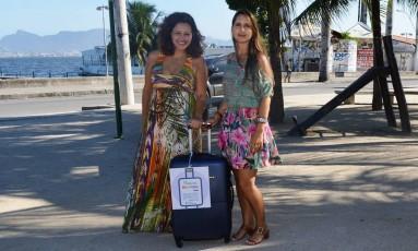 Débora e Rachel montaram a malinha há cerca de um mês Foto: Divulgação/Rejane Leal